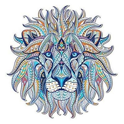 Mandalas de animales coloreados