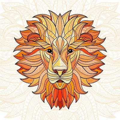 mandalas de animales coloreadas