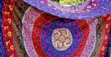 Tapices y telas de mandalas