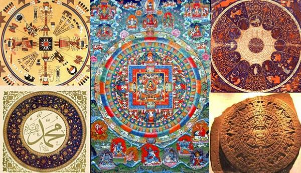 Tipos de mandalas según su origen