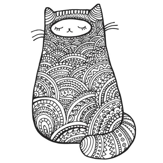gatito mandala