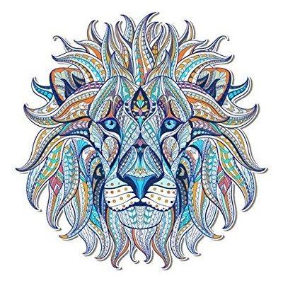 leon mandala para imprimir a color