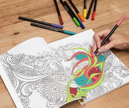 Descubre los mejores libros para colorear mandalas