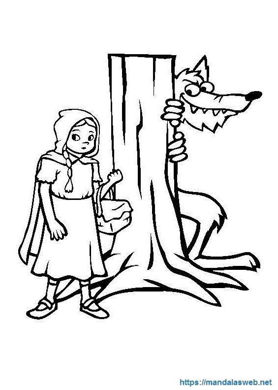 Dibujos del lobo feroz