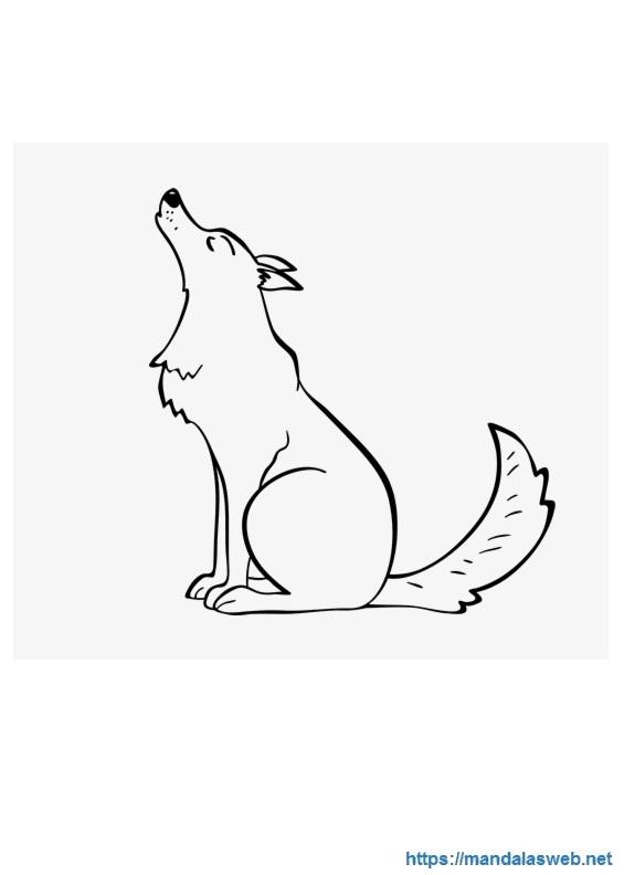 Mandalas Y Dibujos De Lobos Para Colorear Mandalaswebnet