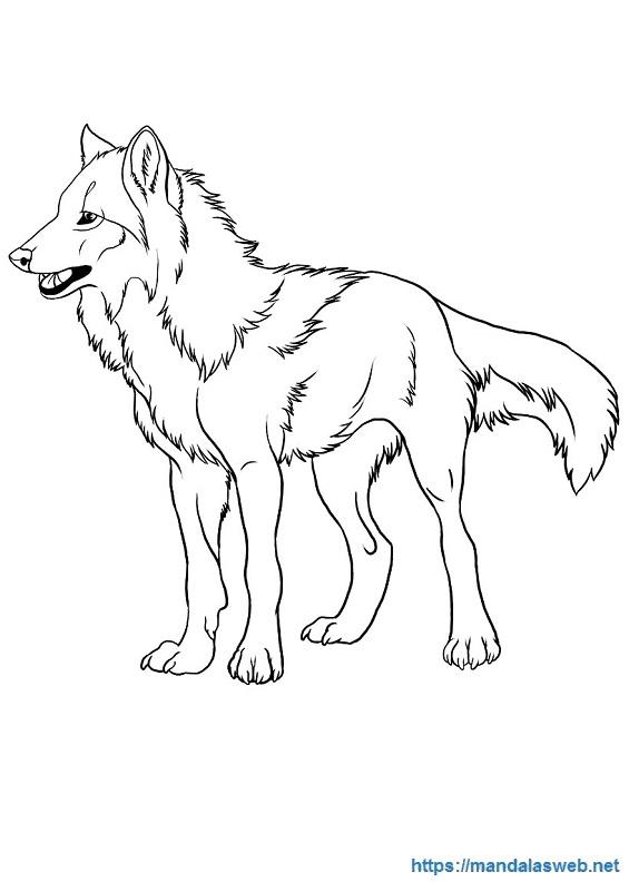 Dibujos de lobos fáciles