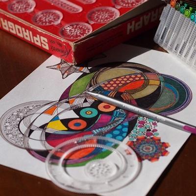 Juegos de pintar mandalas
