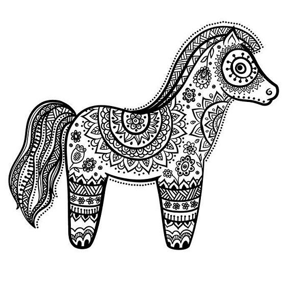 caballo mandala