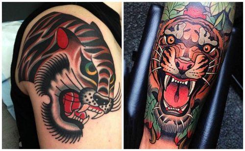 dibujos de tigres para tatuar