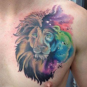 leon mandala tattoo
