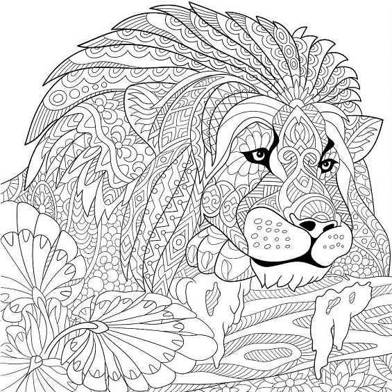 leones mandalas