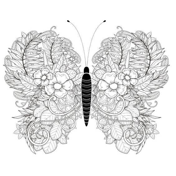 mariposas mandalas