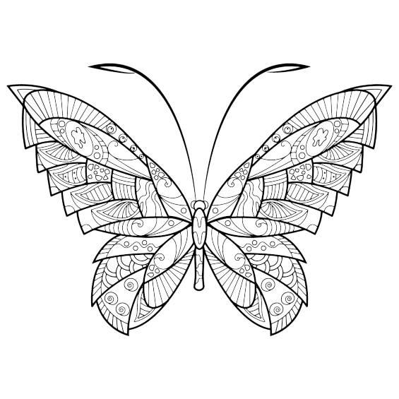 otra mariposa mandala