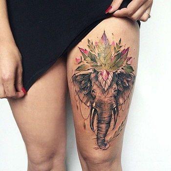 significado tatuaje elefante mandala