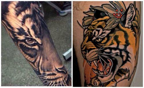 significado tigre mandala