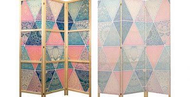 La mejor opción para separar o dividir espacios en tu hogar es el biombo mandala.