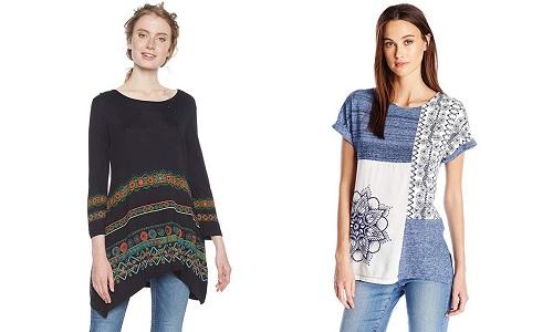 ¡Encuentra tu camiseta mandala ideal! Camisetas de manga corta, de tirantes, camisas y blusas Desigual.