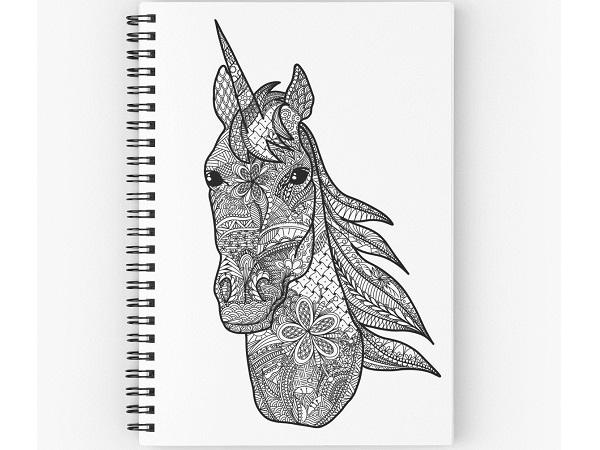 33 Mandalas De Unicornios Para Colorear E Imprimir Libros De