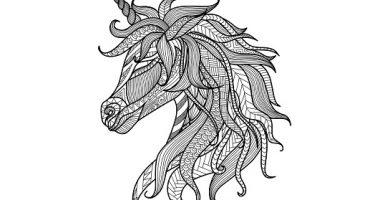 Mandalas de unicornios