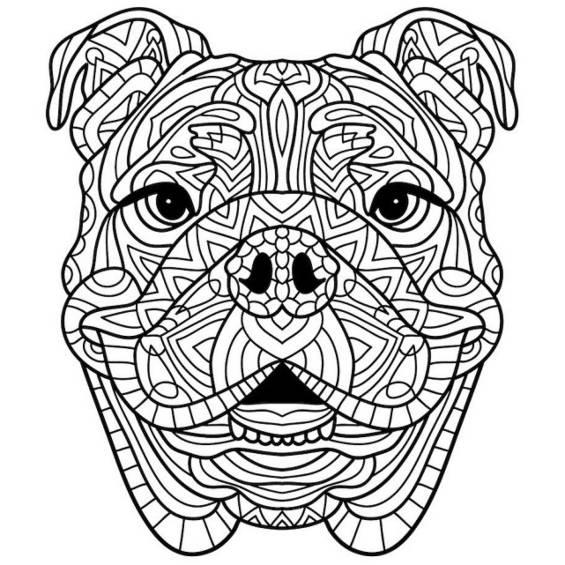 mandala de un perro
