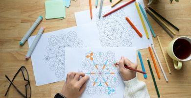 Los mejores consejos para que aprendas cómo colorear mandalas y los materiales para pintarlas