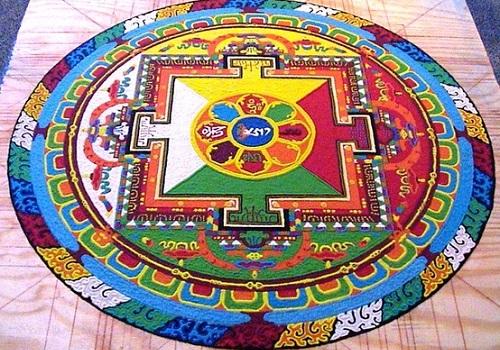 Mandalas tibetanos