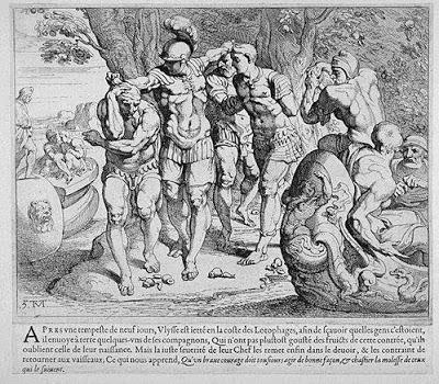 Odisea de Ulises, lotófagos