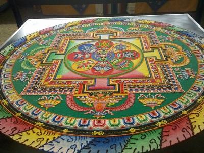 Un mandala tibetano