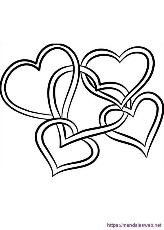Dibujos de corazones bonitos