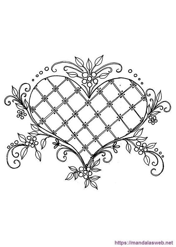 Dibujo de un corazon bonito