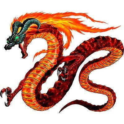 dibujos de dragones a color
