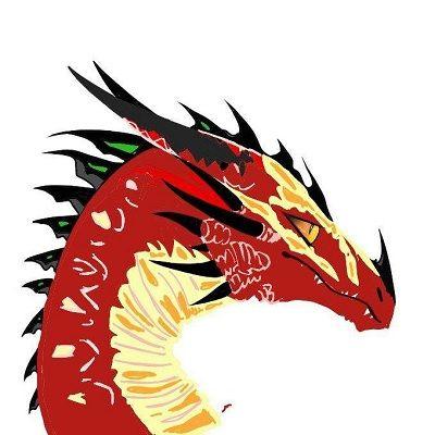 dibujos de dragones coloreados