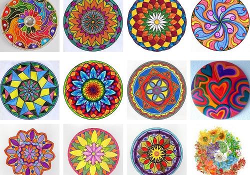 Descubre las mandalas coloreadas y de colores más bonitas