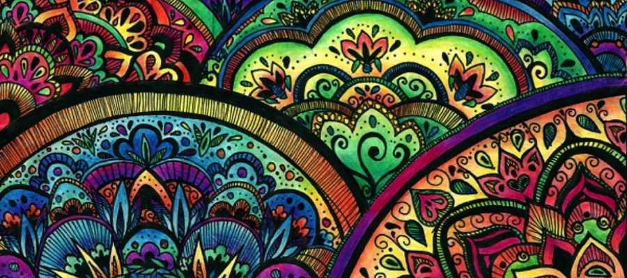 Los mandalas tienen distintos significados según sus formas y colores