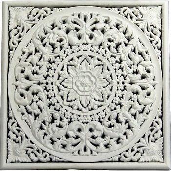 Mandala blanco
