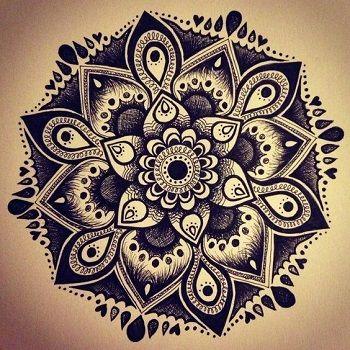 Mandala negro