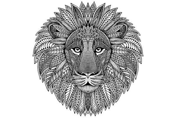 Mandalas de leones