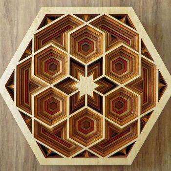 Mandalas hexagonales