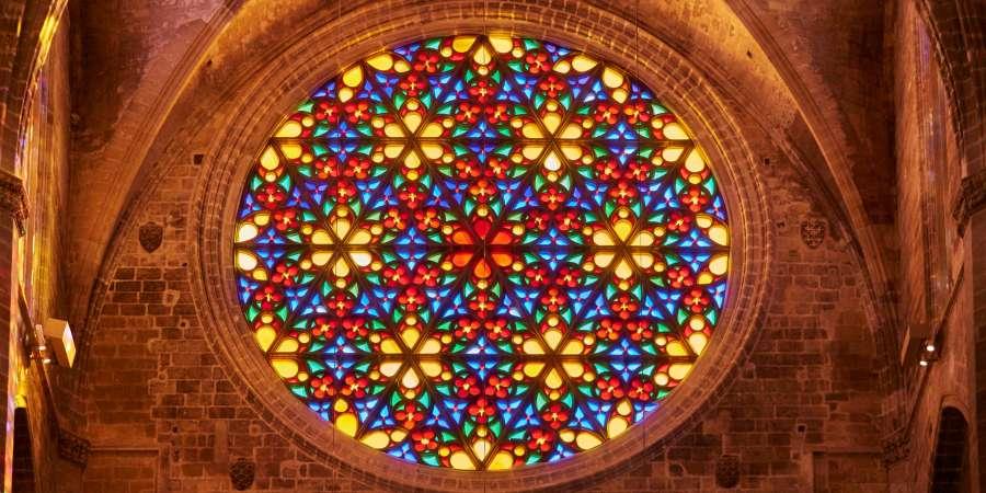 rosetones los mandalas cristianos